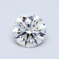 当前宝石:0.70 克拉圆形切割