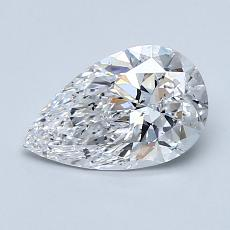 Current Stone: 1.00-Carat Pear Shaped