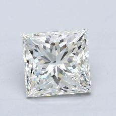 Recommended Stone #3: 1.08-Carat Princess Cut Diamond