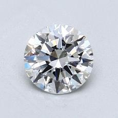 1.01 Carat 圓形 Diamond 理想 E VVS1