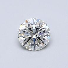 0.50 Carat 圆形 Diamond 理想 K SI2