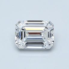 Recommended Stone #2: 0.83-Carat Emerald Cut Diamond