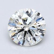 推荐宝石 4:1.35 克拉圆形切割
