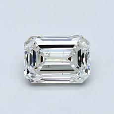 0.90 Carat 绿宝石 Diamond 非常好 H SI1