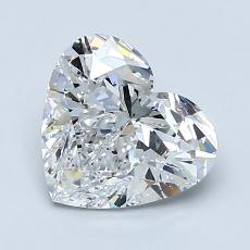 Recommended Stone #3: 1.61-Carat Heart Shaped