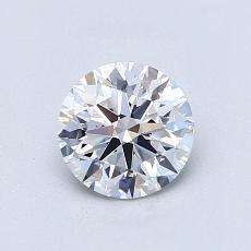Pierre recommandée n°4: Diamant taille ronde 0,80 carat