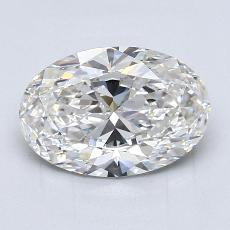 2.01-Carat Oval Diamond Very Good G VS2
