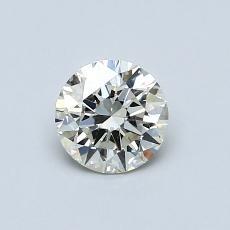 推荐宝石 1:0.60 克拉圆形切割