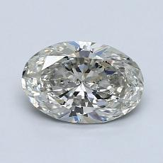 1.02-Carat Oval Diamond Very Good J SI1