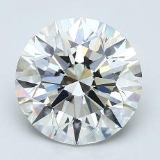 Pierre recommandée n°3: Diamant taille ronde 2,54 carat
