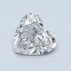 Recommended Stone #2: 1.00-Carat Heart Shaped