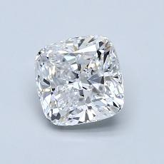 1.00-Carat Cushion Diamond Very Good D VS1
