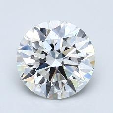 1.50-Carat Round Diamond Ideal E VS1