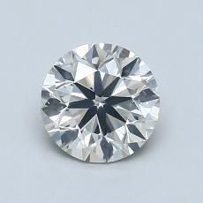 1.00-Carat Round Diamond Very Good J SI2