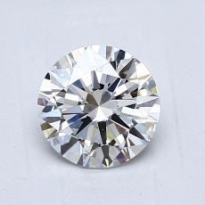 1.01 Carat Redondo Diamond Ideal G VS1