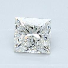 Current Stone: 0,90-Carat Princess Cut