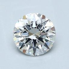 1,03 Carat Rond Diamond Idéale G SI1