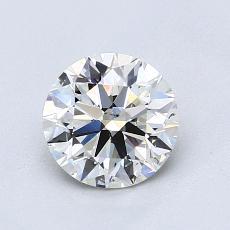 1.03-Carat Round Diamond Ideal I SI1