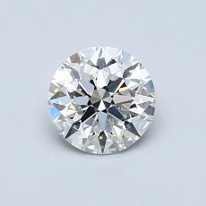 0.72 Carat 圆形 Diamond 理想 G VS1