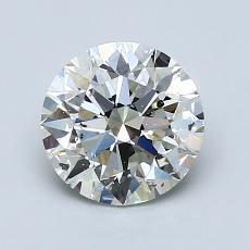 1.30-Carat Round Diamond Ideal K SI2