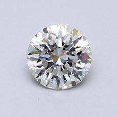 Recommended Stone #3: 0,76-Carat Round Cut Diamond