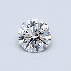推荐宝石 2:0.52 克拉圆形切割