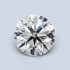 1.00-Carat Round Diamond Very Good K SI2