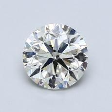 1,00-Carat Round Diamond Very Good K SI2