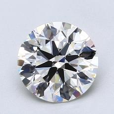 推薦鑽石 #1: 1.74  克拉圓形切割