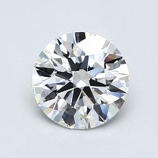 1,01-Carat Round Diamond Ideal E VVS1