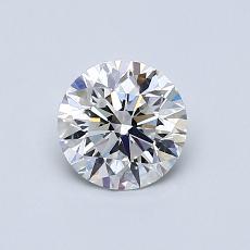 0.70 Carat 圆形 Diamond 理想 D VVS2
