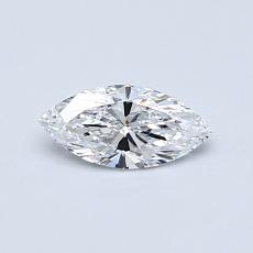 0,31-Carat Marquise Diamond Very Good D IF