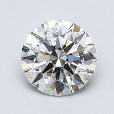 当前宝石:1.06 克拉圆形切割
