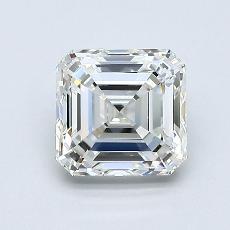 Recommended Stone #3: 1.21-Carat Asscher Cut