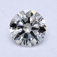 1,21 Carat Rond Diamond Idéale G VVS2