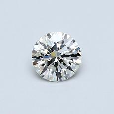 推荐宝石 2:0.40 克拉圆形切割