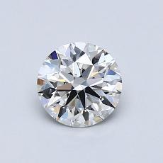 0.71 Carat 圆形 Diamond 理想 F VS2