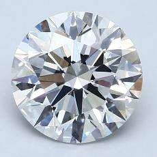 Recommended Stone #3: 2.84-Carat Round Cut