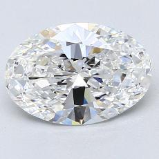 推薦鑽石 #2: 2.09  克拉橢圓形 Cut