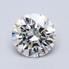1.20 Carat Redondo Diamond Ideal G VVS2