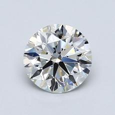 1.00-Carat Round Diamond Ideal G VVS2