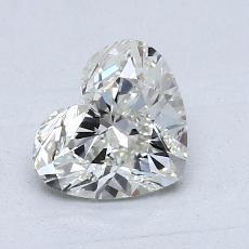 1.02 Carat 心形 Diamond 非常好 J SI2