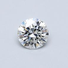 Recommended Stone #1: 0,46-Carat Round Cut Diamond