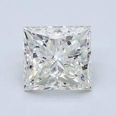 2.01 Carat 公主方形 Diamond 非常好 K VS1