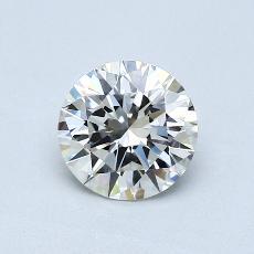 1,00 Carat Rond Diamond Idéale I VVS1