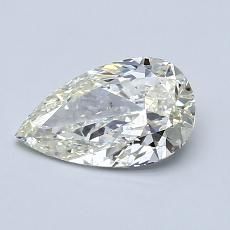 Recommended Stone #4: 0,90-Carat Pear Shaped