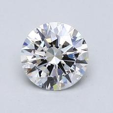 1,04 Carat Rond Diamond Idéale H VS2
