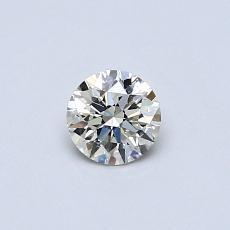 推荐宝石 1:0.32 克拉圆形切割