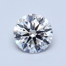 1.02 Carat 圆形 Diamond 理想 F IF