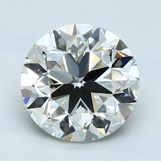 Recommended Stone #3: 2,01-Carat Round Cut